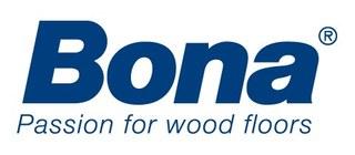 Large bona cleaning janitorial logo