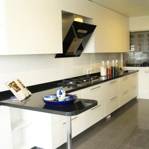 Equipos de Cocina en Edificio Portezuelo / Kitchen Center