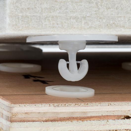 Acoustic Panel Fastener - Standard Range