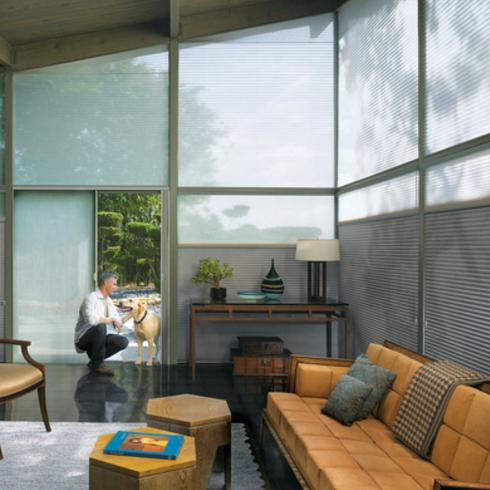 Cortinas Duette Architella - Alto nivel de eficiencia energetica