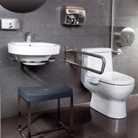 Diseno De Baños Normales:Baños para personas con Discapacidad / CHC Roca