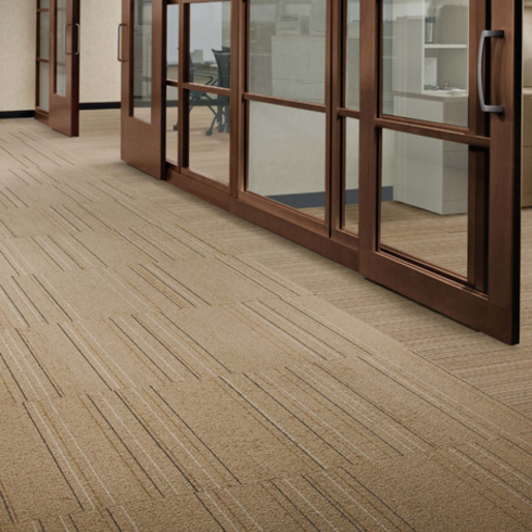 Carpetes Modulares Pin Line, Vector e Micro Line