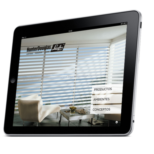 Guia Luxaflex Catalogo virtual para Ipad y Tablets