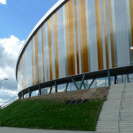 Round Facade at Omnisport Arena Apeldoorn