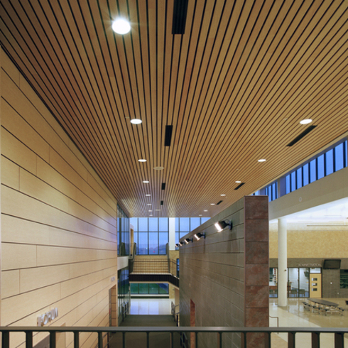 Metal Ceilings - Woodwright Box Series Interior