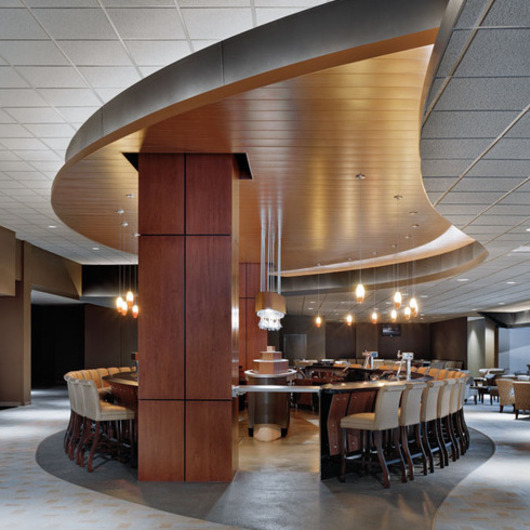 Metal Ceilings - Woodwright 300C / Hunter Douglas Contract