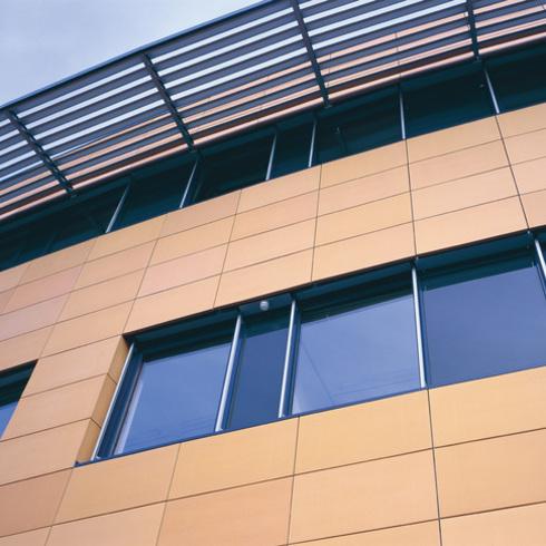 Facade - NBK Terracotta TERRART Solid / Hunter Douglas Contract