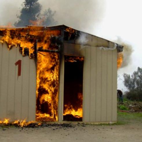 A prueba de Fuego - Evitar tragedias de manera económica y sencilla / Volcan