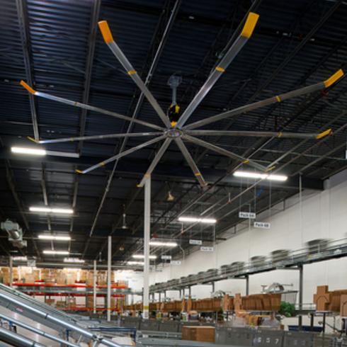 Industrial Ceiling Fan - Powerfoil X2.0 / Big Ass Fans