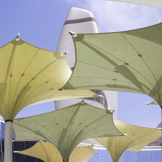 Textile Architecture in King Abdulaziz Center