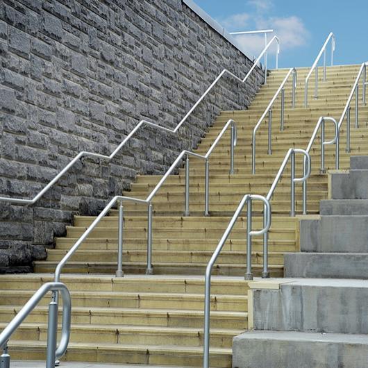 AL Post/Wall Mount Handrail