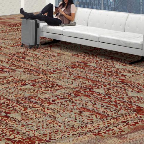 Carpete Modular da coleção Over the Edge Spread