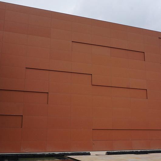 Ventilated Facade in SESC Headquarters