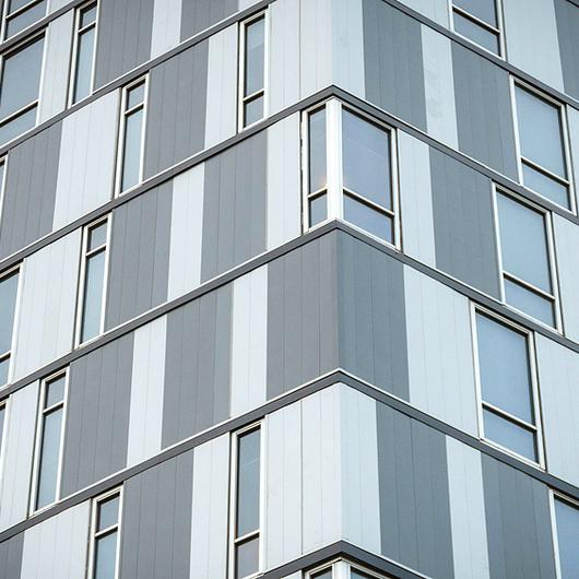 Metal Cladding Panels in Confluence Park