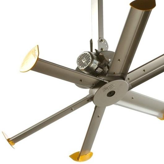 mounted fan pivot from big ass fans. Black Bedroom Furniture Sets. Home Design Ideas