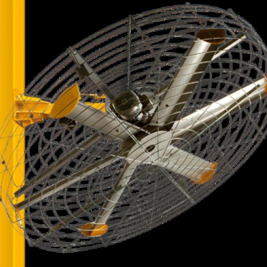 Mounted Vertical Fan - Pivot 180