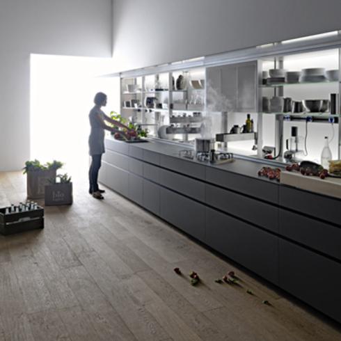 Kitchen cabinet - New Logica System / Valcucine