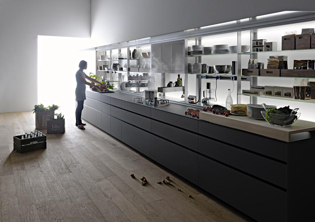 Kitchen Cabinet New Logica System Valcucine