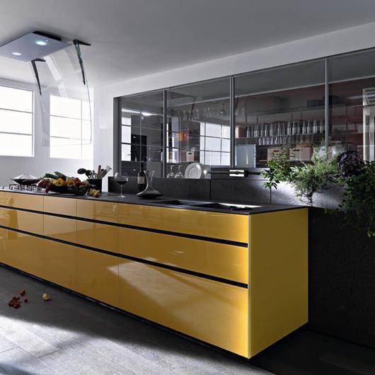 Kitchen cabinet - Artematica Vitrum / Valcucine