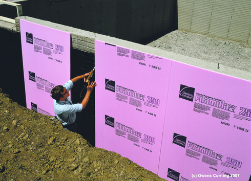 Insulation Fiber Foamular Xps From Owens Corning
