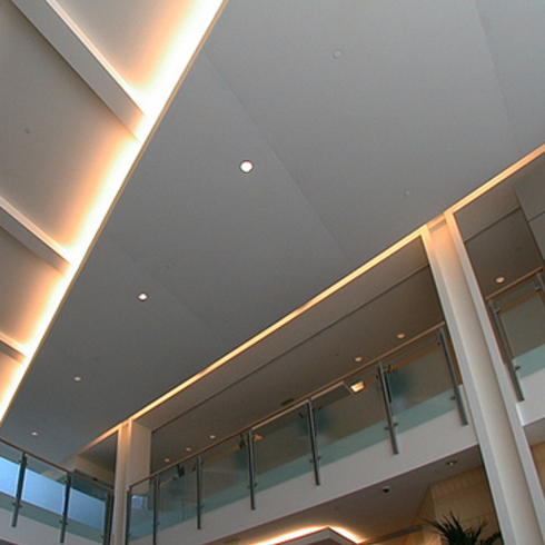 Suspended Ceilings - Eurospan ceiling system / Owens Corning