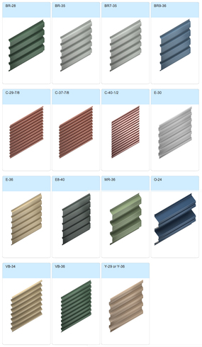 Metal Wall Amp Roof Systems Exposed Fastner From Morin Corp