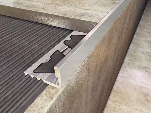 Guarda Aluminio Baño:perfil omega aluminio