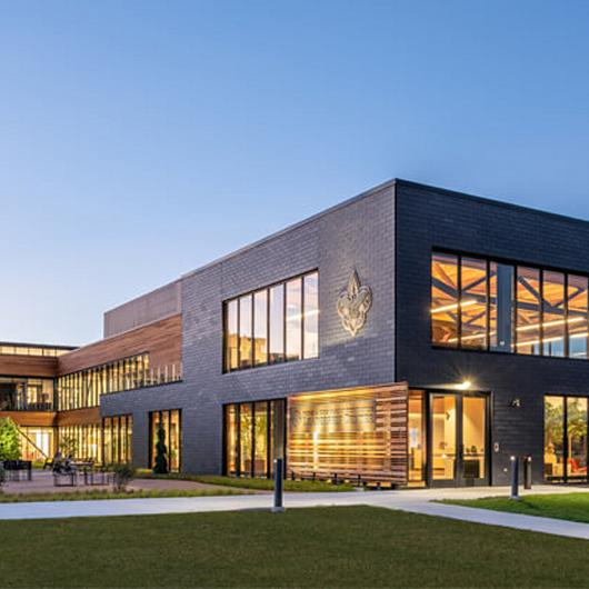 Natural Slate Cladding - BSA Leadership Center