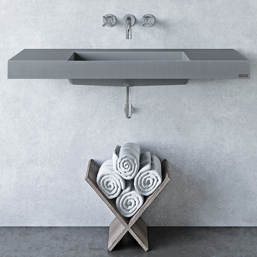 ADA Concrete Wall Mount Sinks