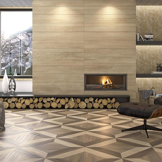 Wood-Look Porcelain Tiles - Sajonia