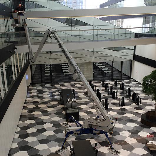 Falcon Spider Lift in Industriens Hus