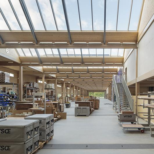 VELUX Modular Skylights in Vitsoe HQ