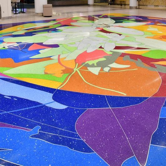 Terrazzo in Orlando International Airport
