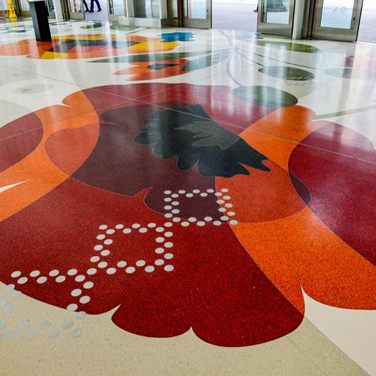 Terrazzo in Salesforce Transit Center