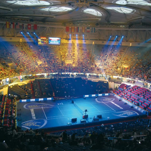 Shanghai Tennis Center, China / Thomsit