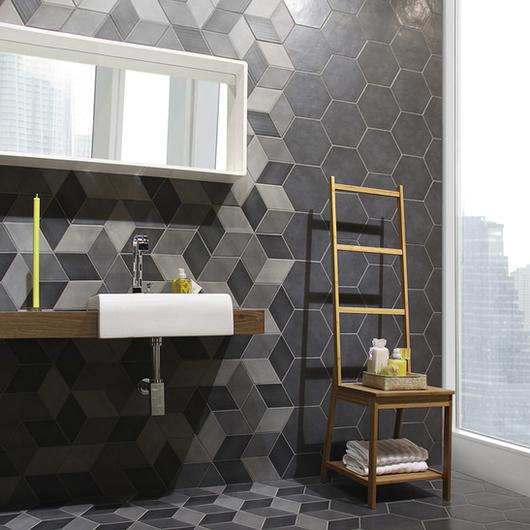 Revestimiento de Porcelanato Esmaltado Mondrian y Concret / MK