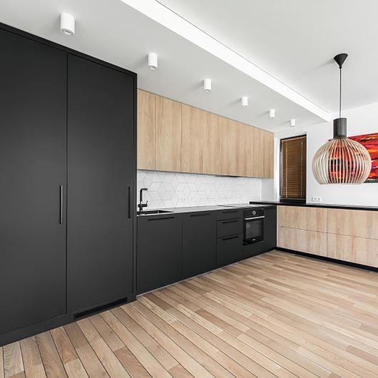 EGGER Surfaces in Apartment Rukainių Namai