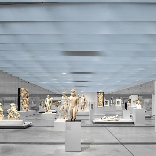 Display Cases in the Louvre Lens