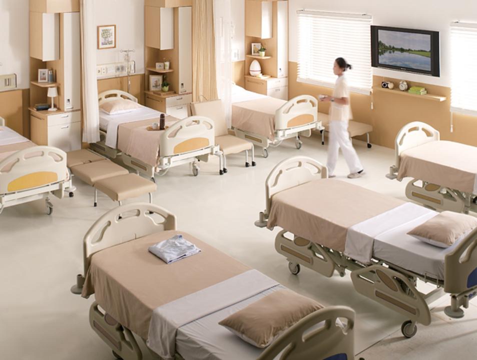 Habitaciones de paciente; Habitaciones Privadas; Habitaciones