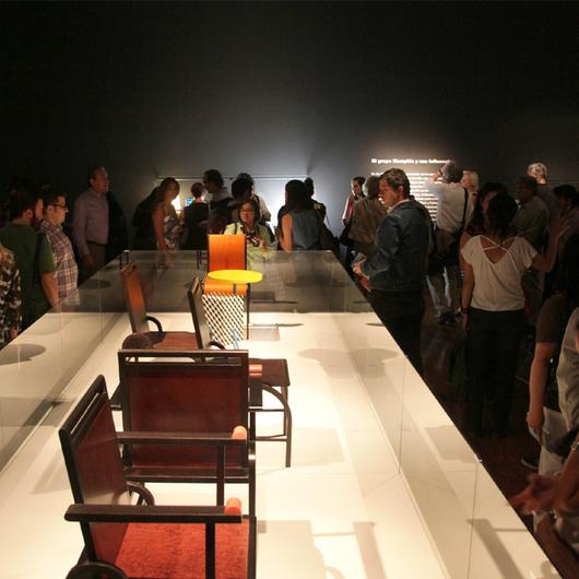 Exposición de Sottsass en el GAM