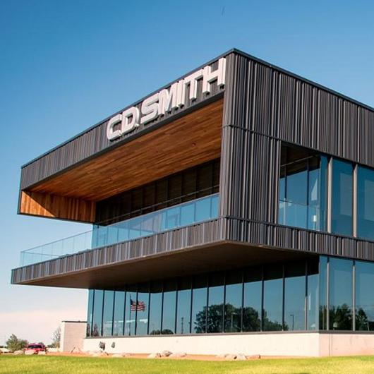 Metal Cladding in CD Smith Corporate Office