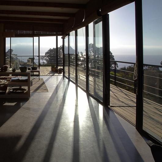 Pulido de Pisos de Hormigón en Casa Quintay / HitekPro
