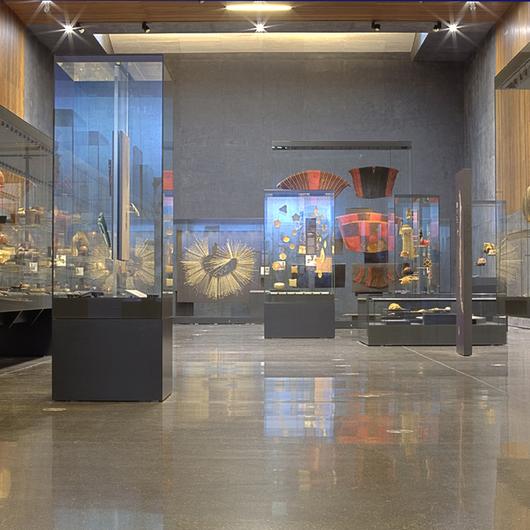 Pulido de Pisos de Hormigón en Museo Precolombino / HitekPro