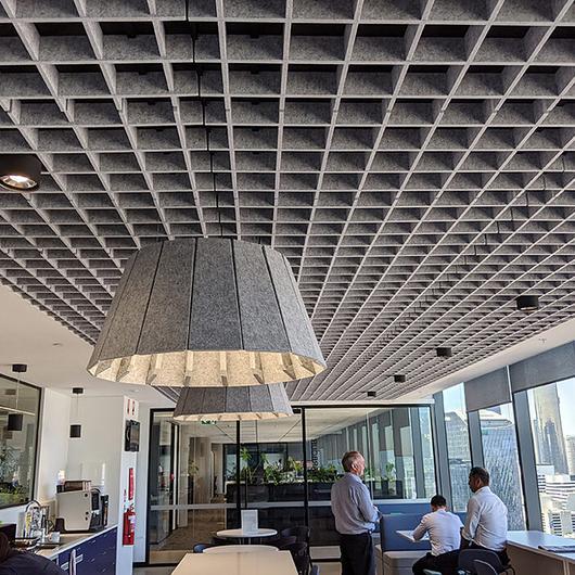 Acoustic Ceiling Tile - Ecoustic Sculpt™