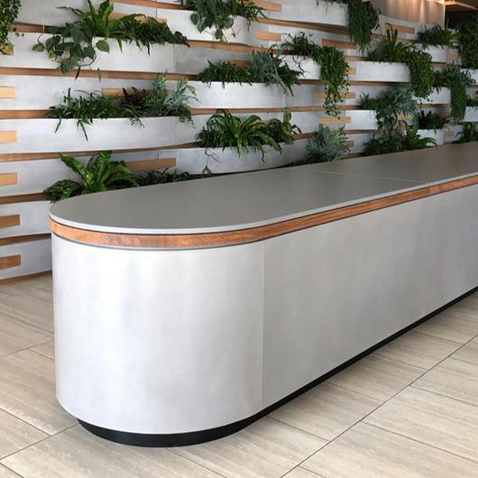 Reception Desks, Panels & Features