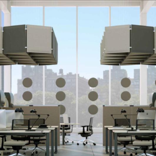 Paneles acústicos modulares