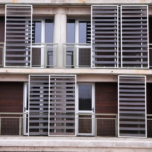 Eterplac y Permanit en los bloque de vivienda Social Paniahue / Pizarreño