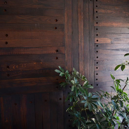 Wood Cladding - Oak Staves / Ignisterra