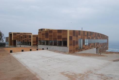Revestimiento exterior fibrocemento permanit madera de for Revestimiento exterior en madera