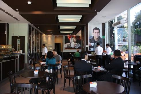 Interiorismo y mobiliario de masisa - Mobiliario de cafeteria ...